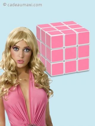 rubik 39 s cube pour les blondes cadeaumaxi. Black Bedroom Furniture Sets. Home Design Ideas